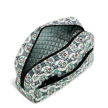 70dfd0b1fa Amazon.com   Vera Bradley Iconic Large Cosmetic Bag Paisley Stripes   Beauty