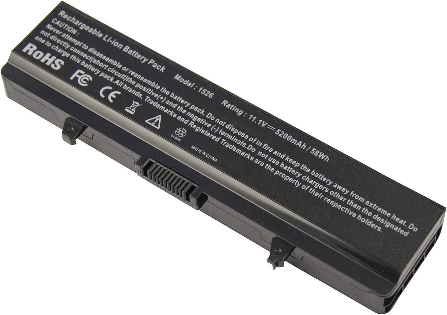 yan 6 Cell Battery for DELL Inspiron 1525 1526 1545 1546 1750 PP29L PP41L Vostro 500