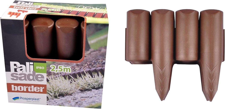 INTEPLAS - Bordura Polipropi Chocolate Inteplas 13Cmx2, 5Mt ...