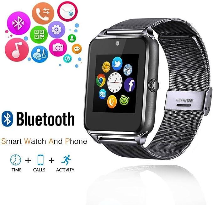 ishenzu Wearable Smartwatch teléfono Metal correa de reloj soporta ...