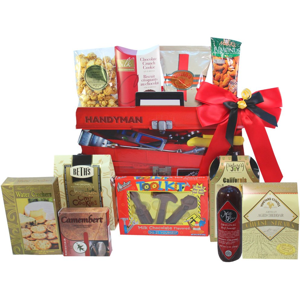 Amazon handymans toolbox of snacks and treats gift basket amazon handymans toolbox of snacks and treats gift basket gourmet snacks and hors doeuvres gifts grocery gourmet food negle Gallery