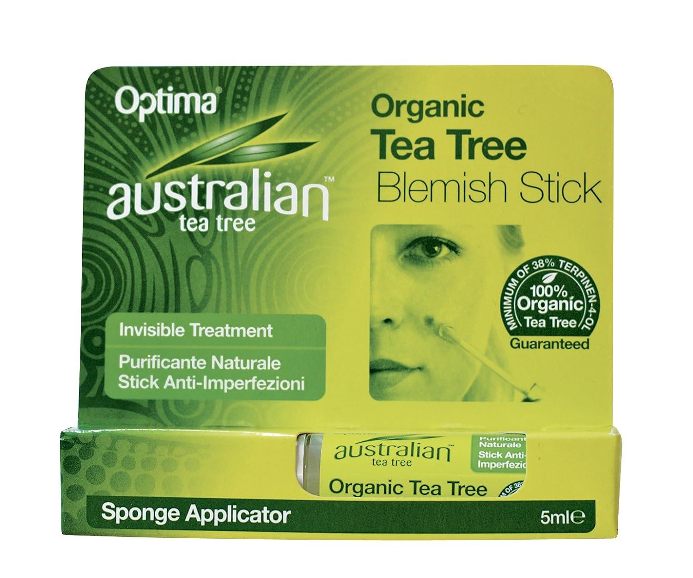 Optima Naturals srl Australian Tea Tree - Blemish Stick 99406 WRC01058_verde