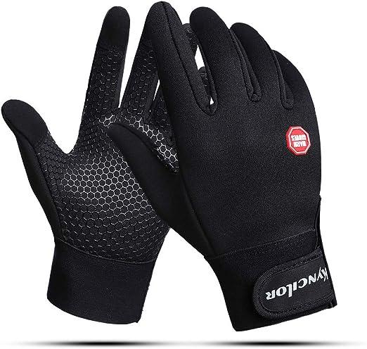 Winter Windproof Full Finger Touch Screen Mountain Bike Gloves Anti-slip Adults