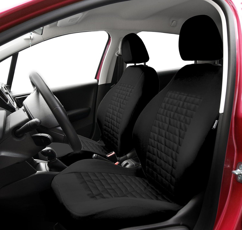 Ford Fiesta Universal 1+1 Front Grau Sitzbezüge Schonbezüge Elegance P1