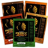 Perky Jerky Turkey Variety Pack, 2.2 ounce bags (Pack of 5)