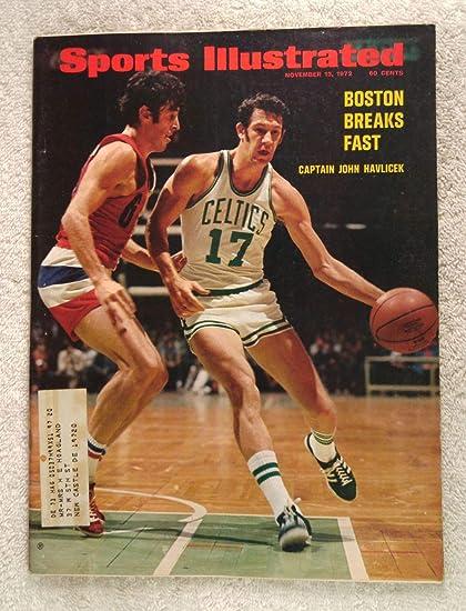 c62e09da8 John Havlicek - Boston Celtics - Sports Illustrated - November 13 ...
