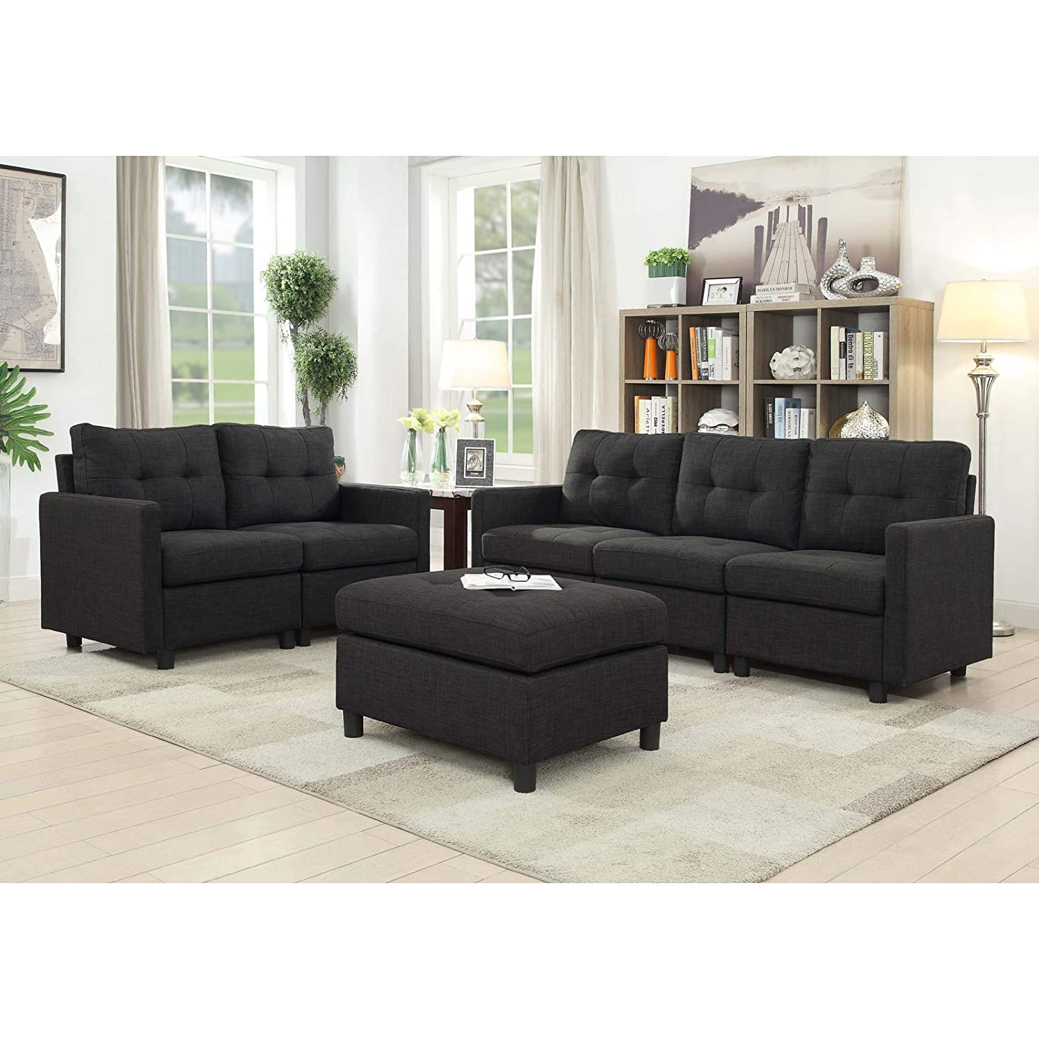 Cool Bliss Brands Modular Sectional Sofa Sets Assemble 6 Piece Gmtry Best Dining Table And Chair Ideas Images Gmtryco