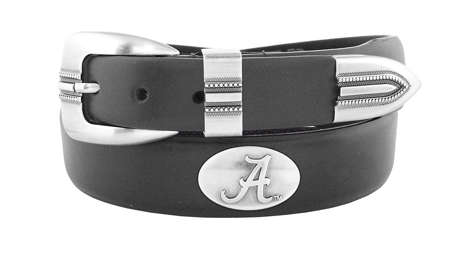 Zeppelin Products Inc NCAA Alabama Crimson Tide Tip Leather Concho Belt