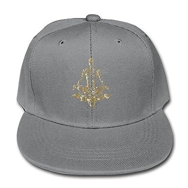5f3d6284328 Amazon.com  Kids Baseball Cap Meditation Yoga Man Adjustable Trucker Hat  for Boys Girls  Clothing