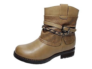 10d5c2bd45c348 Kinder Winterschuhe Jungen Winterstiefel Mädchen Boots Stiefeletten  Warmfutter  Amazon.de  Schuhe   Handtaschen