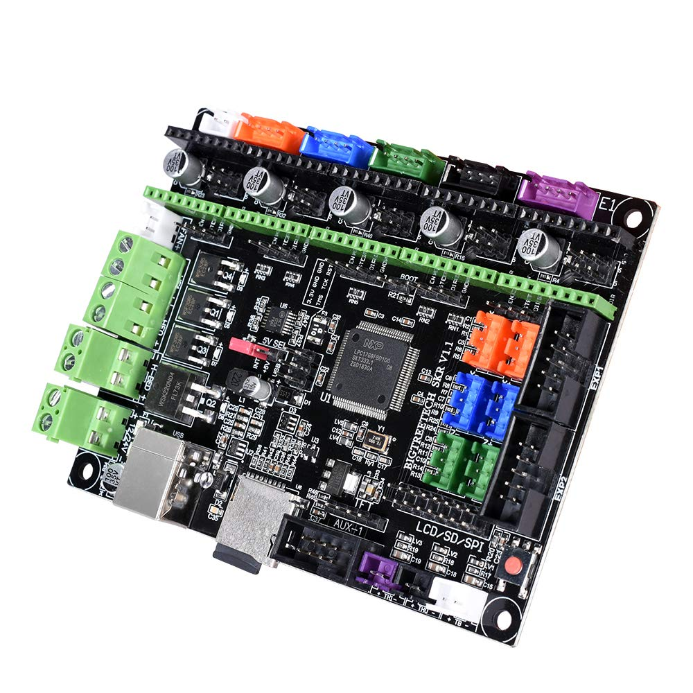 KINGPRINT New Smoothieware Controller Board SKR V1 1 32bit Controller Panel  Board for 3D Printer