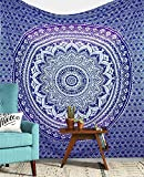 Twin purple tapestry Purple Ombre Tapestry Wall hanging College Dorm Tapestry Mandala Tapestry Dorm Decor Indian Hippie Tapestry Bohemian Bedspread Bedding Beach Tapestry Decor
