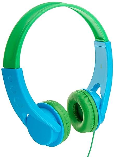 aef6062d98b Amazon.in: Buy AmazonBasics Low Volume Kids' On-Ear Headphones (Blue ...