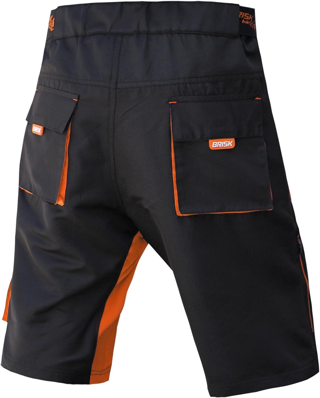 Brisk Bike MTB Cycling Shorts Pantalones cortos Hombre