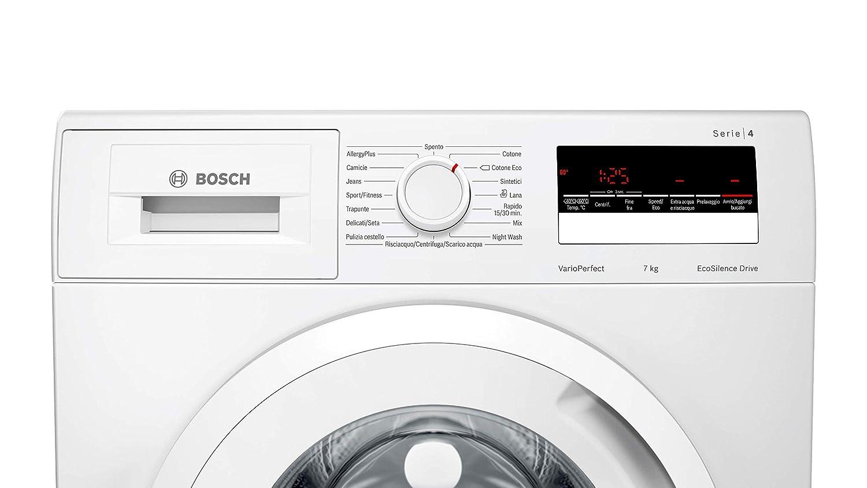 Bosch WAN28267II - Lavadora de carga frontal (7 kg, 1400 rpm ...