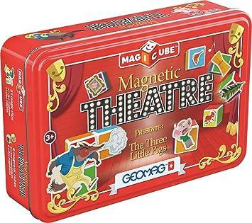 Geomag 150, Magicube Magnetic Theatre, 42 Piezas: Amazon.es: Juguetes y juegos