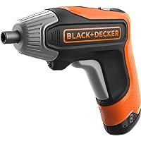 BLACK+DECKER BCF611CK-QW - Atornillador a batería 3.6V(1.5Ah) litio