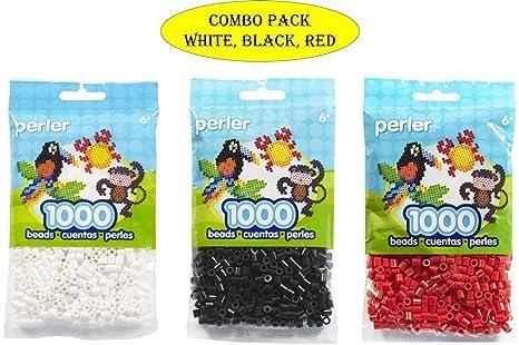 Perler 80-19005 Bead Bag, Red Perler Beads