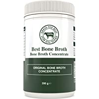 Bone Broth CALDO DE HUESO Concentrado de carne de res - Caldo de huesos optimizado para llevar - Sin hormonas ni…