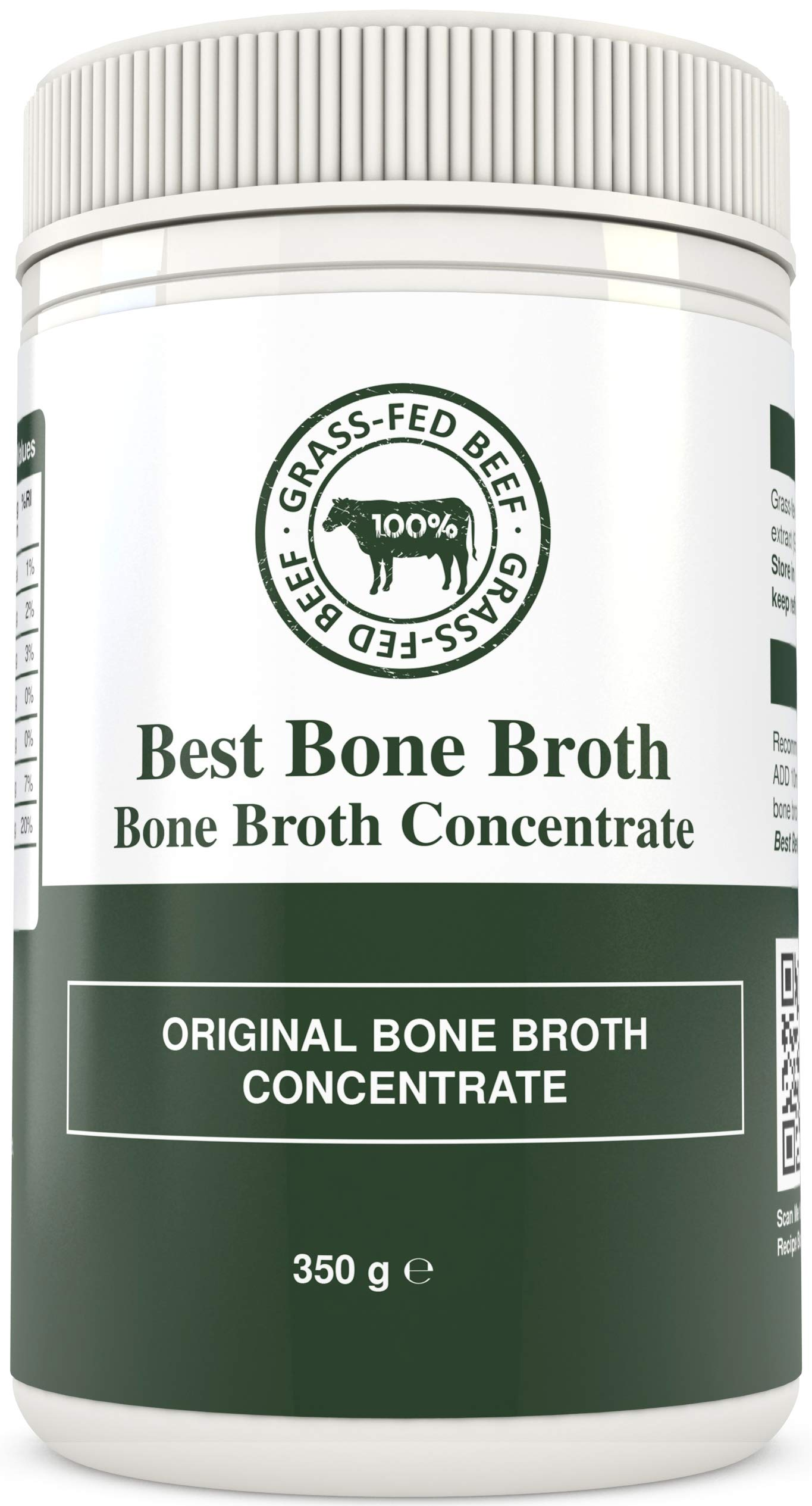 Bone Broth Premium Beef Bone Broth Concentrate - 100% Sourced from AU Grass-Fed, Pasture-Raised Cattle - Bone Broth Collagen