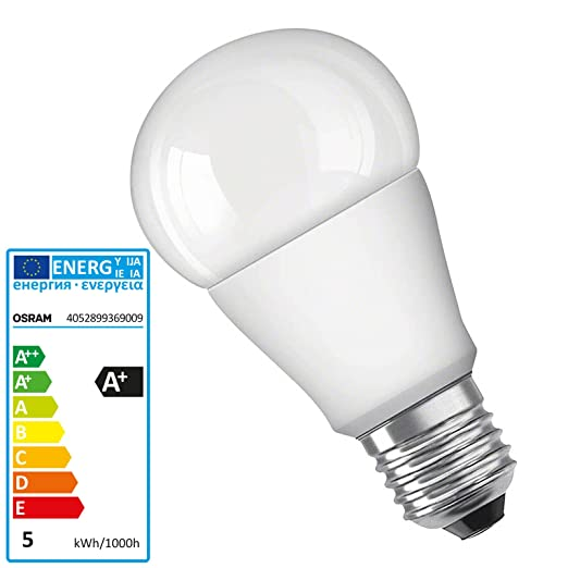 E27Cool Cl A White Bulbscool White Led Osram W Parathom 5 hdBsQtrCx