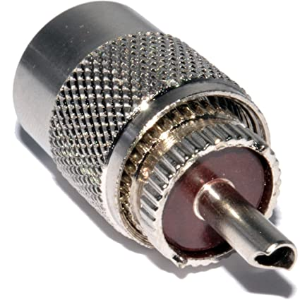 UHF PL259 Masculino Clavija Soldar Adaptador Para RG58 Coaxial Cable