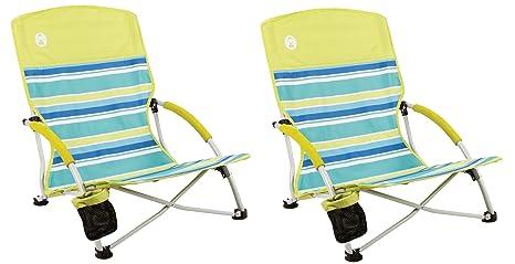 Coleman. Utopia Breeze - Sillón de Playa (2 sillas): Amazon ...