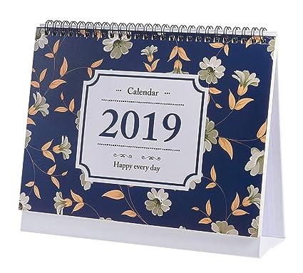 Planificadores diarios 2018-2019 Calendario de escritorio ...