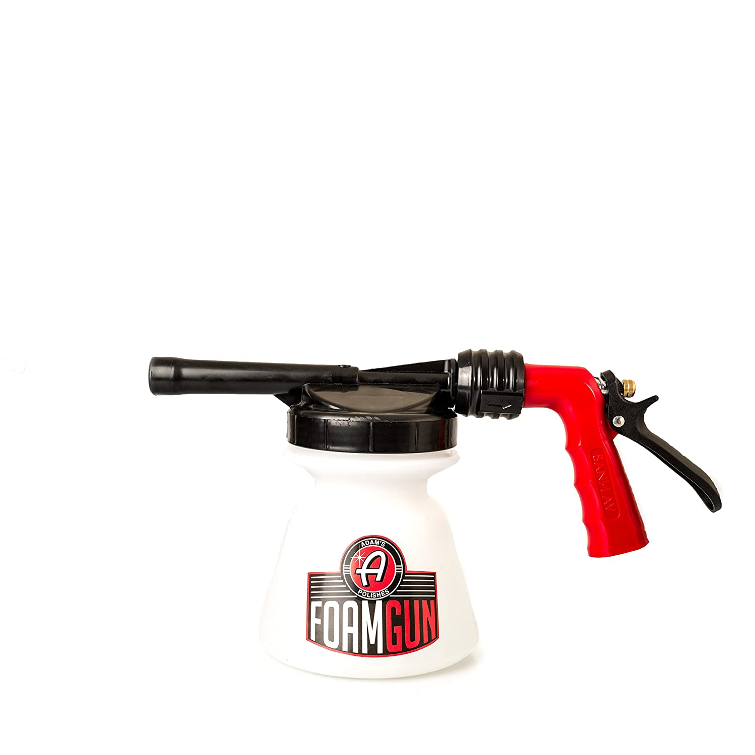 Adam's Standard Foam Gun - Use with Any Car Wash Soap & Garden Hose for Thick Suds - Detailing Tool Does Not Require Pressure Washer & Won't Remove Wax Sealants or Ceramic Coatings from Car Boat RV