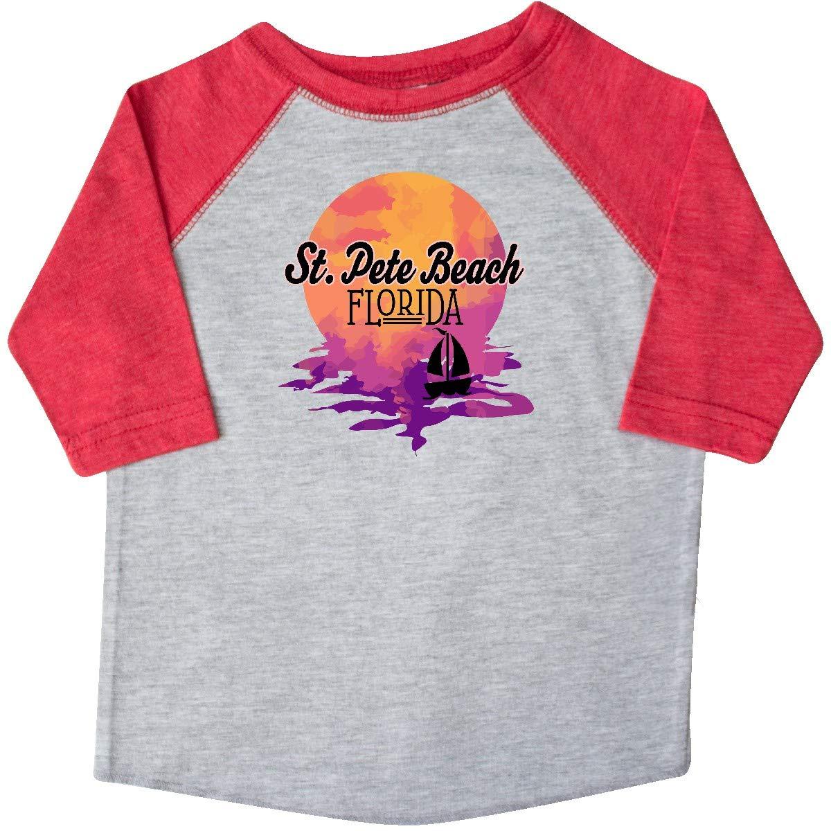 inktastic St Pete Beach Florida Sunset Toddler T-Shirt