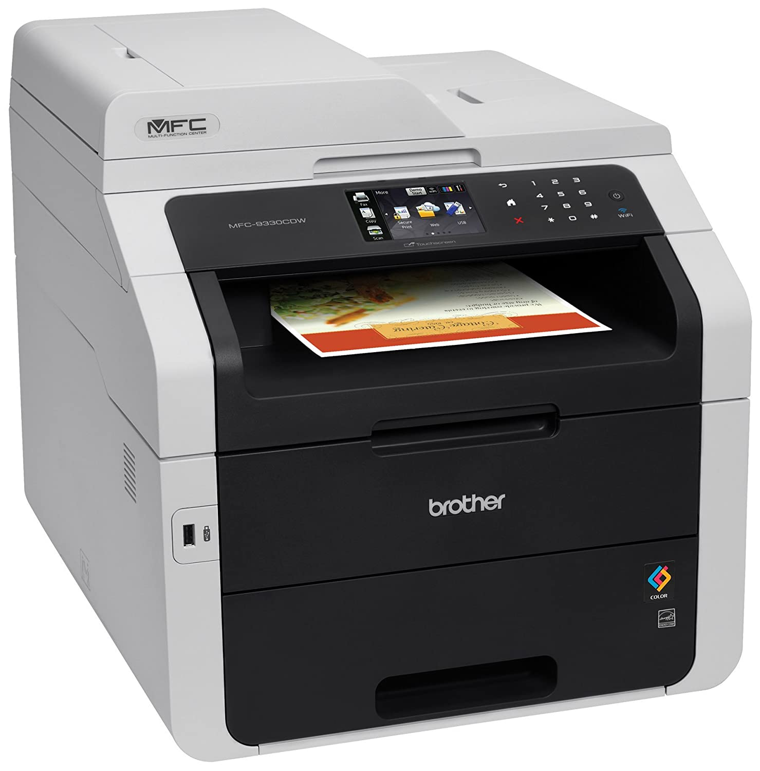 Color printouts in hyderabad - Amazon Com Brother Wireless All In One Color Printer With Scanner Copier And Fax Mfc9330cdw Amazon Dash Replenishment Enabled Electronics