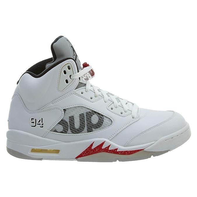 size 40 7155e 9169f Amazon.com   Air Jordan 5 Retro Supreme - 12
