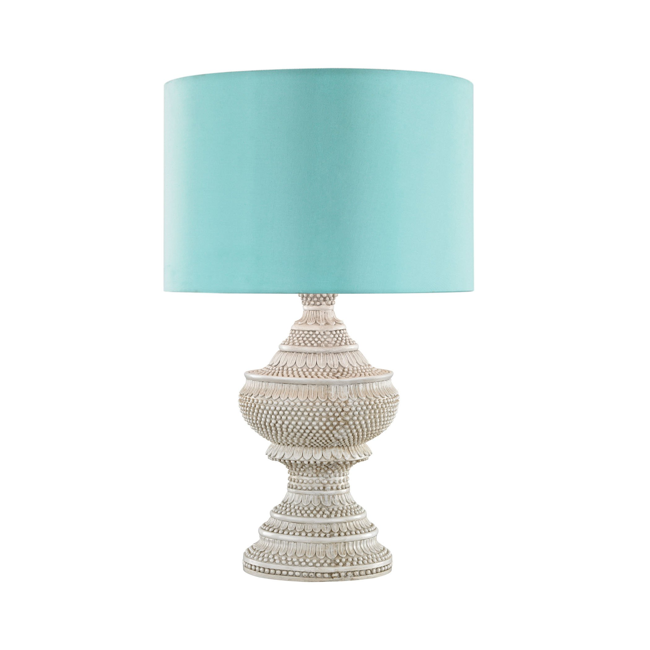 Kokopo Outdoor Table Lamp With Sea Green Shade