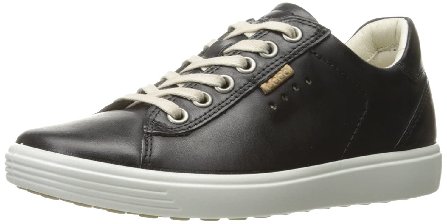 ECCO Women's Soft Fashion Sneaker B01KF6Y9K0 40 EU/9-9.5 M US|Black