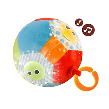 Yookidoo- Pelotas para Bebés con Luz Y Sonido, Multicolor (40124 ...