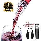 Decantador de Vino - Aireador de Vinos Profesional Portátil para Amante del Vino en la Fiesta