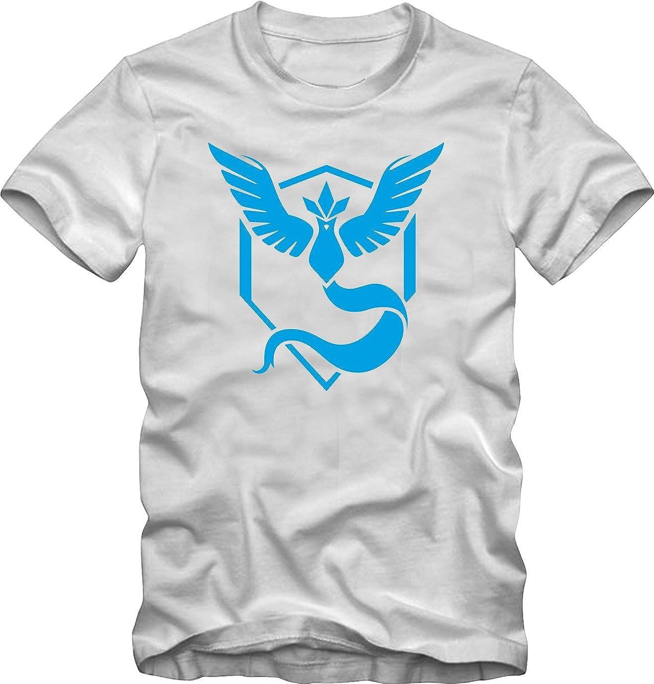 Bisura T-Shirt Pokemon Go Team Mystic