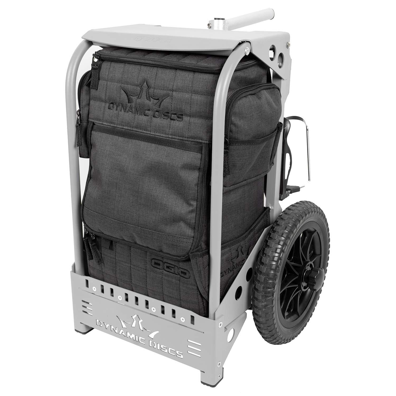 Dynamic Discs Backpack Disc Golf Cart by ZUCA (Matte Gray)