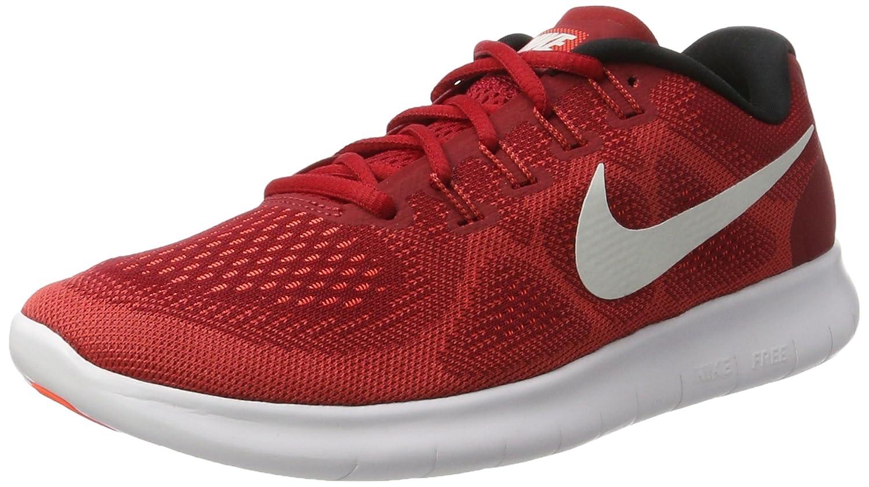 Nike Free Run 2017, Zapatillas de Entrenamiento para Hombre 44.5 EU Rojo (Game Red/Off White-track Red-total Crims)