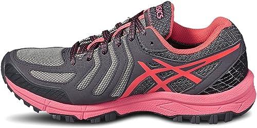 Asics Gel FujiAttack 5 GTX Womens Trail Running Shoes - Grey-3.5 ...