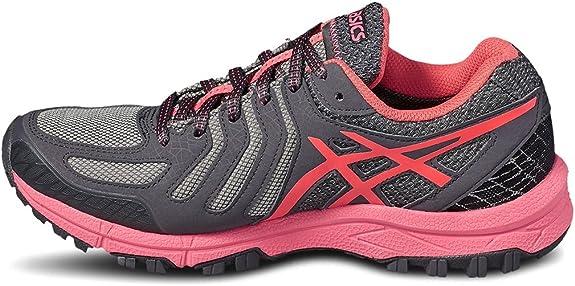 Asics Gel FujiAttack 5 GTX Womens Trail Running Shoes - Grey-3.5 UK: Amazon.es: Zapatos y complementos