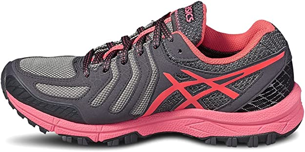 Asics Gel FujiAttack 5 GTX Womens Trail Running Shoes - Grey-3.5 UK: Amazon.es: Zapatos y complementos