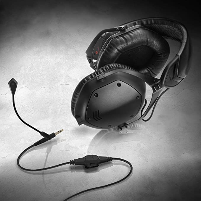 V MODA BoomPro Microphone for Gaming & Communication Black