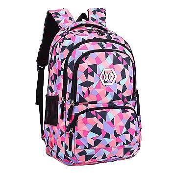 Comfysail Niños Bolsa de Escuela Mochila de Chicas Bolso del Tela de Oxford Daypacks para Viaje Senderismo Camping(8 a 12 años): Amazon.es: Equipaje