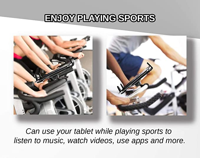 Marvorem Soporte Tablet Bicicleta estatica Universal valido para ...
