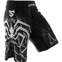 SMMASH Venom Deporte Profesionalmente Pantalones Cortos MMA para Hombre, Shorts MMA, BJJ, Grappling, Krav Maga, Material…