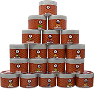 (GRAPE) Hookah Flavors by Sunlight Charcoal – Non-Tobacco Hydro Herbal Molasses – 200g Container Hookah Shisha Pipe – Premium Quality Intense Flavor – No Nicotine, No Tobacco (Grape)