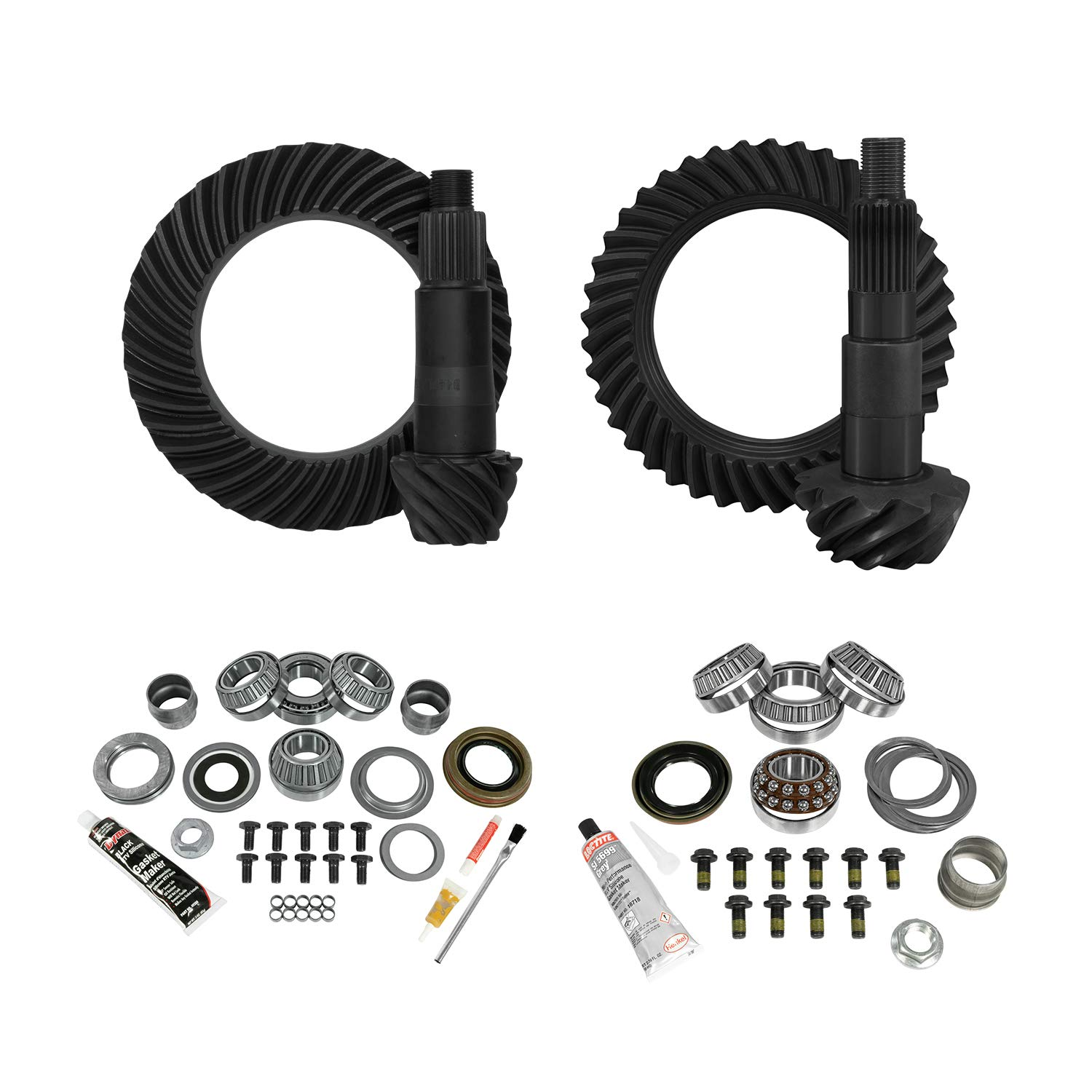 Yukon Gear /& Axle Install Kit for Standard Rotation Dana 60 GM 14T, 5.38 Ratio YGK040