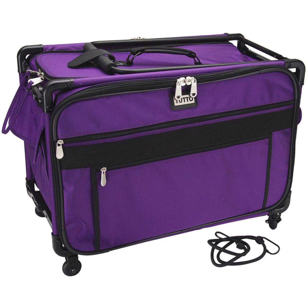 Mascot Metropolitan 9224PMA-1X 9224PMA-1X Tutto Machine Case On Wheels, X-Large/24, Purple Bohin