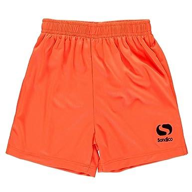 e202f5be2d0 Sondico Kids Core Football Shorts Fluo Orange 7-8 (SB): Amazon.co.uk:  Clothing